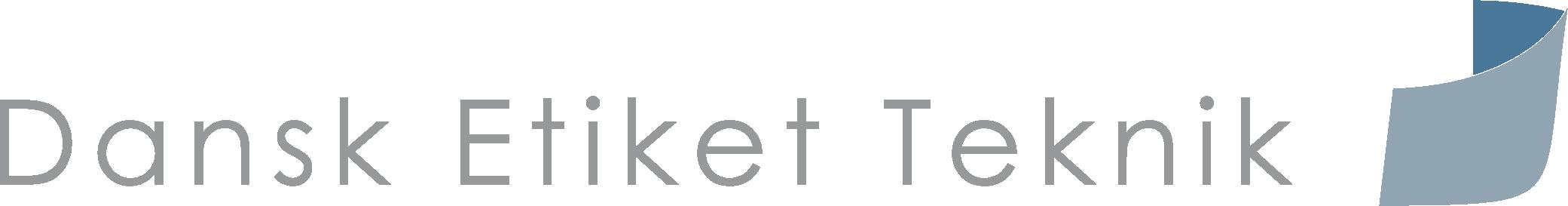Dansk Etiket Teknik Logo